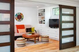 Room Divider Door - cornwall room divider doors living beach style with logs