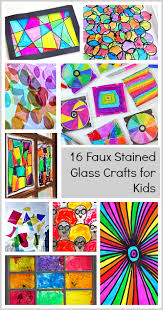 Art And Craft For Kids Of All Ages - 16 faux stained glass crafts for kids buggy and buddy