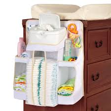 Hanging Changing Table Organizer Dexbaby Caddy And Nursery Organizer For Baby S