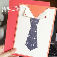 italian hand made greeting cards tie for father u0027s day to send a