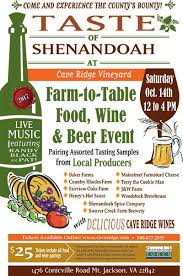 Shenandoah Farm Tables Annual Taste Of Shenandoah Virginia Is For Lovers