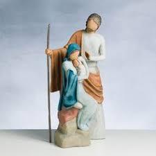 demdaco willow tree nativity figurine shepherd kneeling no box