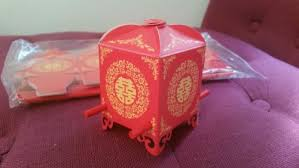 boite dragã es mariage déco de mariage chinoise boîte à dragées bonheur