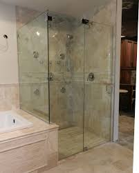 Seamless Glass Shower Door Bathroom Frameless Glass Shower Doors Enchanting Showering Glass