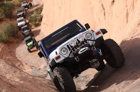 moab jeep trails 4wd teaming up with red rock 4 wheelers for easter jeep safari drives