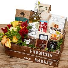 fresh market gift baskets farmers market fresh gourmet gift basket