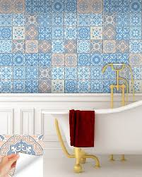 Wall Stickers And Tile Stickers by 24 Tile Stickers Mexican Style Stickers Mixed For Walls Kitchen