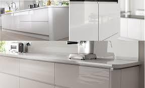 how to clean white gloss kitchen doors new york handleless kitchen range rigid kitchens