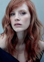 hairstyle magazine photo galleries 196 best muse jessica chastain images on pinterest beautiful
