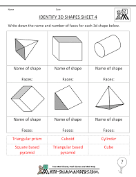geometry worksheets for 5th grade worksheets