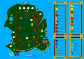 Jurassic Park Map Jurassic Park Africa Englishversion Isla Buillard By Mjcarnage90