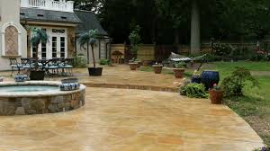 stamped concrete patio design and ideas concrete coating