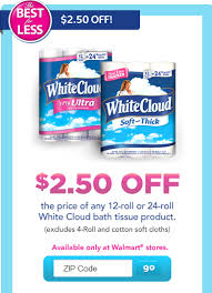 White Cloud Bathroom Tissue - hurry walmart holiday clearance ornaments plushes decor