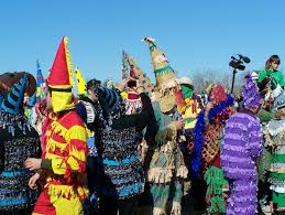 traditional cajun mardi gras costumes louisiana s cajun mardi gras traditions chasing chickens boat