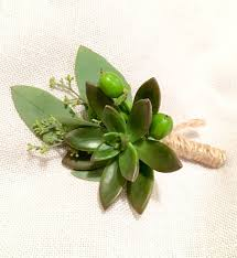 succulent boutonniere how to make a boutonniere flower magazine
