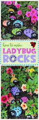 ladybug painted rocks recipe