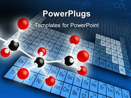 powerpoint template periodic chart for chemistry science 25970
