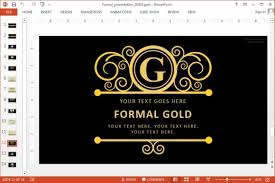 animated powerpoint template for formal presentations