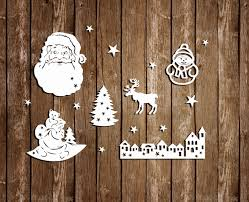 Christmas Window Decorations by Papercut For Window Christmas Papercut Templates Christmas