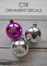 ctr ornament vinyl decal packs of 20