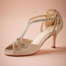 wedding shoes low heel ivory blush low heel wedding shoes hollow out peep toe bridal sandals