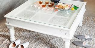 coffee tables square glass top coffee table favored 42 square