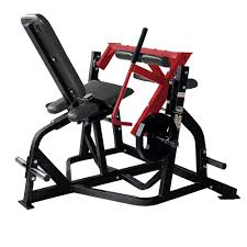 hammer strength plate loaded seated leg curl life fitness