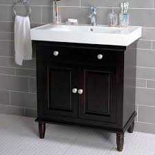 34 Inch Vanity Bathroom Ideas Brown Solid Wood 30 Inch Bathroom Vanity On