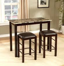 high top bar table dining room set counter height small breakfast