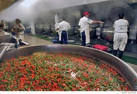 ot central cuisine food better not to inmates inmates bark about lousy meals