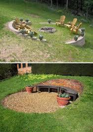 Back Yard House Best 25 Sloped Backyard Ideas On Pinterest Sloping Backyard
