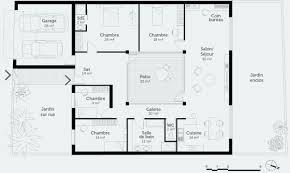 plan maison 4 chambres suite parentale plan maison plain pied 4 chambres avec suite parentale génial plan
