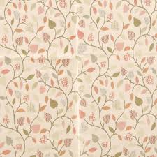 tapestry curtain fabric coral free uk delivery terrys fabrics