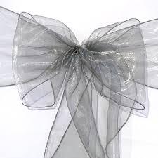 organza sashes organza chair sash silver faraway event rentals koh samui thailand