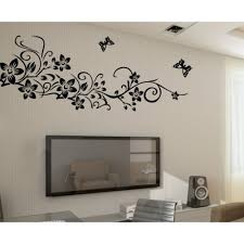only medium flower rattan vine butterfly simple style only medium flower rattan vine butterfly simple style removable wall tomtop