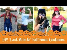Halloween Costumes 4 Diy Minute Halloween Costume Ideas