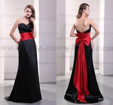 red and black bridesmaid dresses dress ty