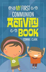communion book my communion activity book