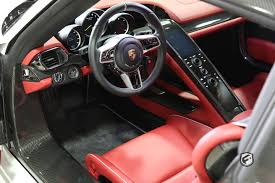 red porsche 918 2015 porsche 918 spyder fusion luxury motors