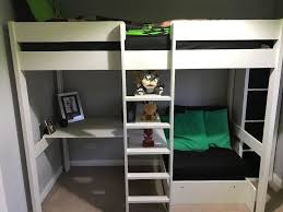 High Sleeper With Futon Stompa Uno 5 High Sleeper With Futon And Desk In Livingston