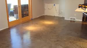 the iconi home a custom concrete kitchen floor