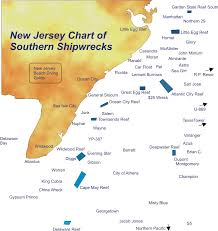 Florida Shipwrecks Map by The New Jersey South Shipwreck Expo New Jersey U0027s Wreck Valley
