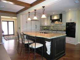 Kitchen Design Traditional Home by Traditional Home Interior Kitchen Design With Pecan U Shape Wooden