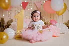 baby birthday chicago and naperville baby photographer cake smash
