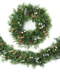 artificial wreaths garlands tree classics