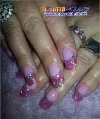 best 20 pink acrylic tips ideas on pinterest glitter nails