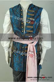 halloween jack sparrow costume pirates of the caribbean 4 jack sparrow vest costume cosplaysky com