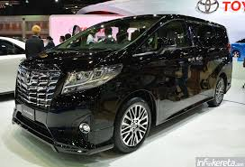 dalam kereta vellfire toyota alphard u0026 vellfire 2015 dilancarkan di bangkok motor show