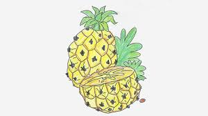 fruits and vegetables coloring pages momjunction