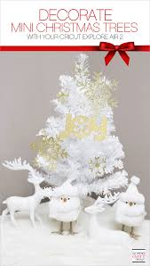 make paper tree decorations with cricut